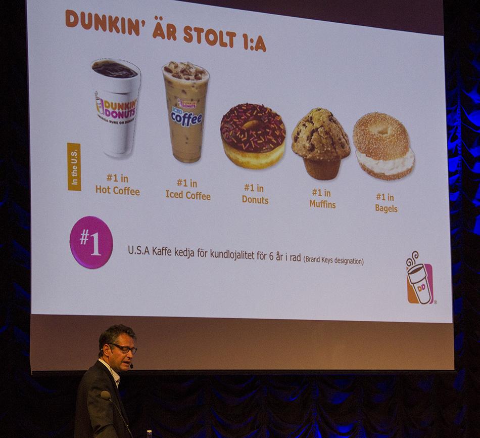 Tommy Svensson, Dunkin Donuts