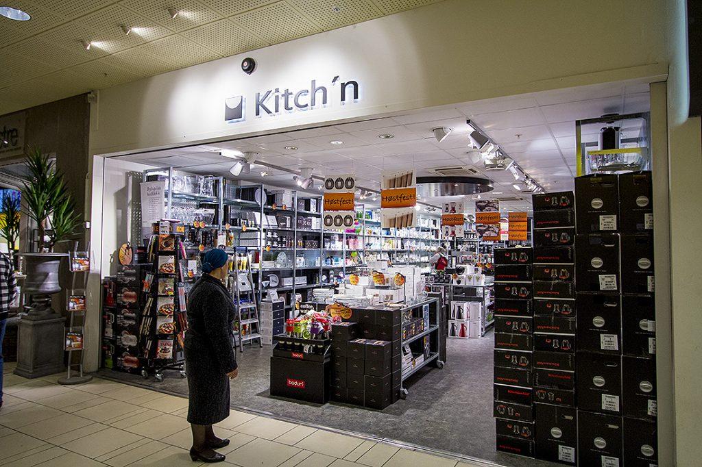 Kitch'n i Sandvika Storsenter, Oslo.