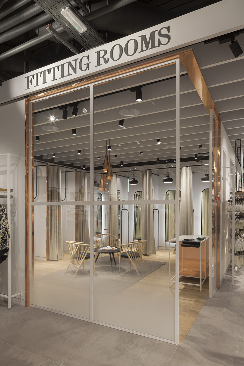 0017 Lindex Westfield Stratford -  Fitting Rooms