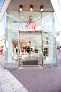 Exterior view of H&M store in Stockholm, Sweden. Photographer: Mattias Bardå/H&M